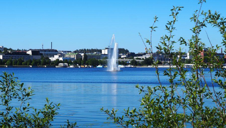 Näkymä Jyväsjärvelle