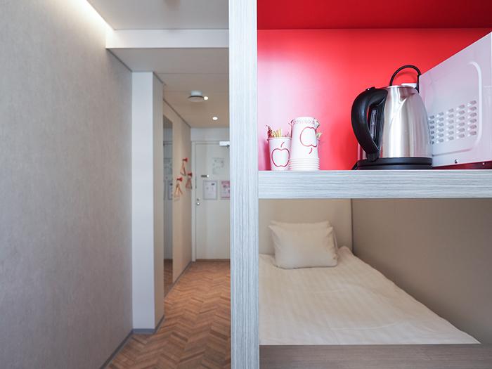 Omena-hotellin Single-huone