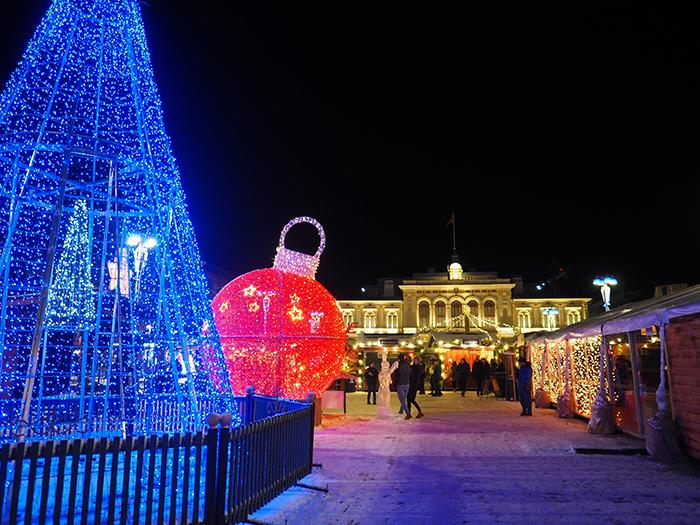 Joulutunnelmaa Tampereella