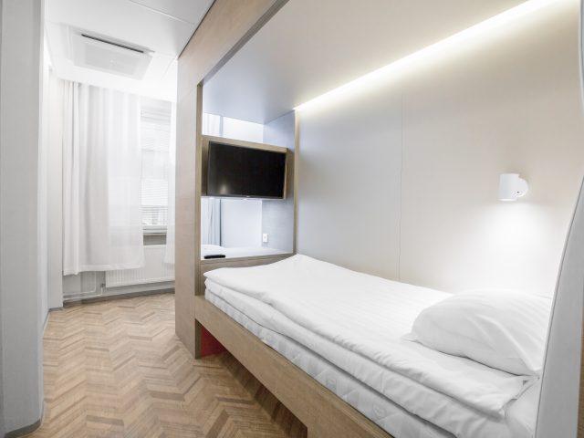 Lönnrotinkatu hotel single room